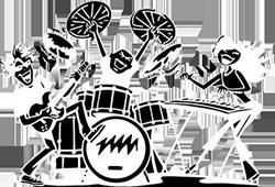 Музыканты на вечеринку